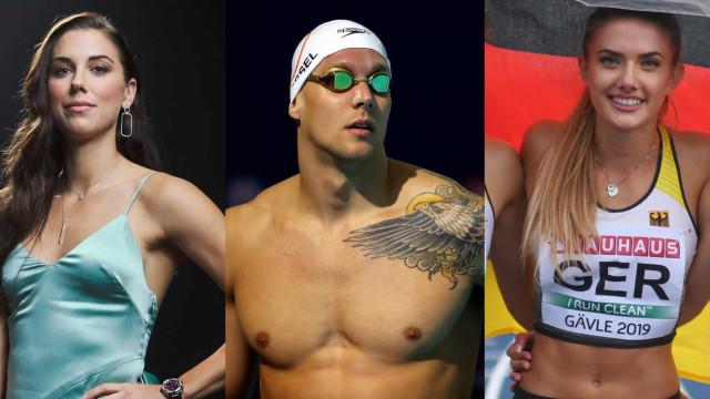 Os atletas mais atraentes em Tóquio 2020