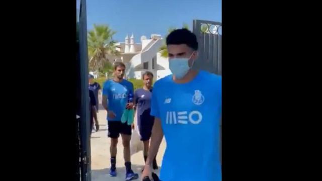 FC Porto regressa aos treinos já com os 'reforços' Luis Díaz e Marchesín