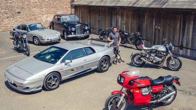 Ex-Top Gear Richard Hammond vende carros para abrir oficina de restauro