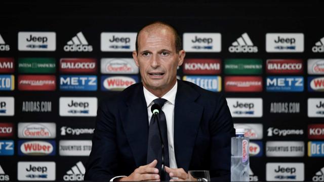 Allegri foi formalmente apresentado na Juventus e deixou 'aviso'... a CR7