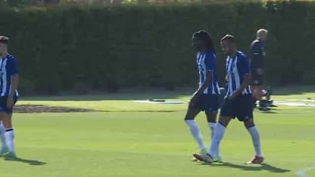 FC Porto goleou Louletano e estes foram três dos seis golos