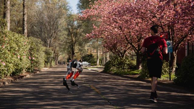 Robot Cassie percorreu uma distância de 5 quilómetros com uma única carga