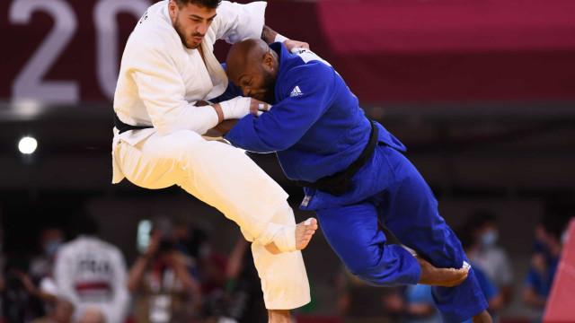 As melhores imagens do combate que valeu o bronze a Jorge Fonseca