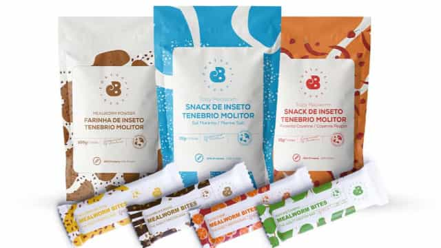 Continente es el primero en vender productos que contienen insectos.  ¡Atrévete a probarlo!
