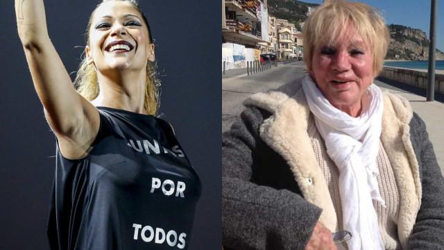 """Florbela Queiroz reage a engano de Raquel Tavares. """"Será que morri?"""""""