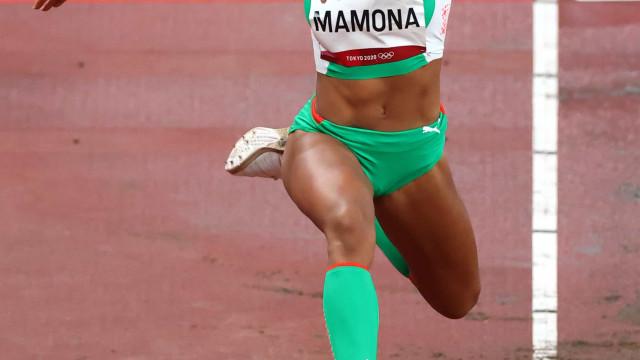 Patrícia Mamona está na final do triplo salto