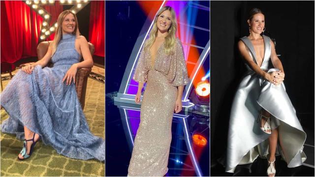 Look da Semana: Os vestidos de princesa de Sílvia Alberto no 'Got Talent'