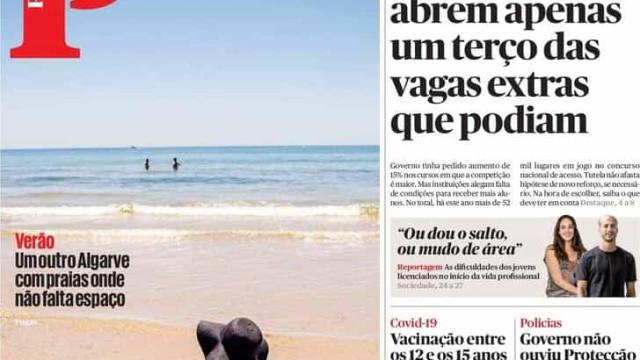 """Hoje é notícia: Investigação de corrupção """"parada""""; Um Algarve diferente"""