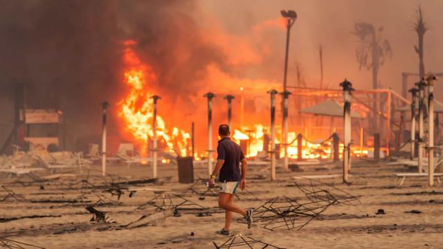 Incêndios na Sicília fazem mais de dez milhões em estragos