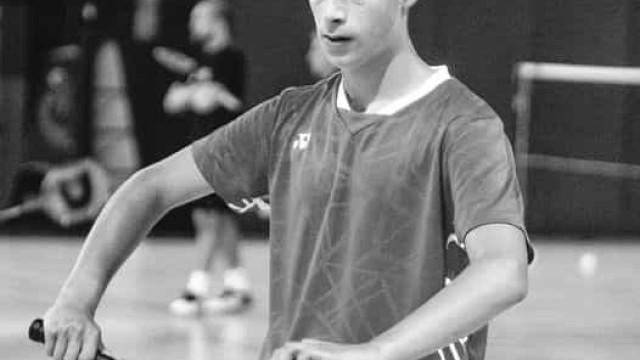 Jogador português de badminton morre aos 16 anos
