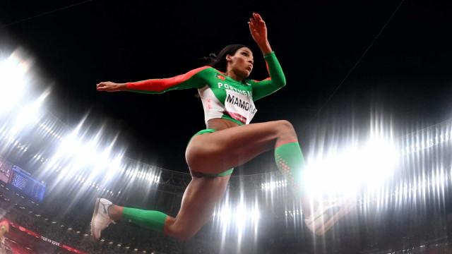 Patrícia Mamona vence medalha de prata e famosos reagem