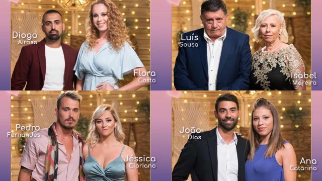 'O Amor Acontece'. Eis os novos casais do reality show da TVI