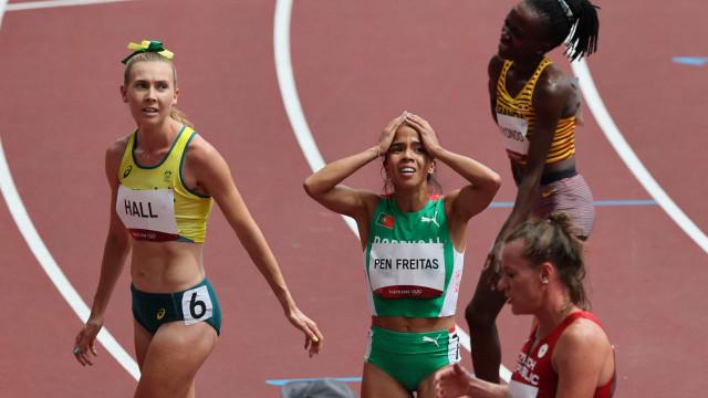 Marta Pen nas 'meias' olímpicas dos 1500 metros após protesto português