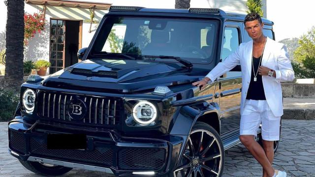 Ronaldo apresentou mais uma 'bomba'. Que carro é este de CR7?