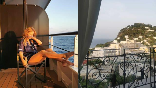 Novas fotos das férias de Cristina Ferreira a bordo de cruzeiro de luxo