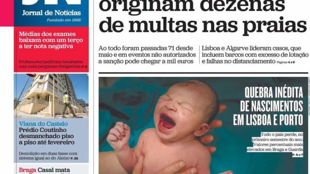 Hoje é notícia: Multas nas praias; Graça Freitas debaixo de fogo