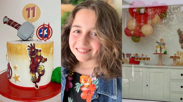 Os detalhes da festa de aniversário da filha de António Raminhos