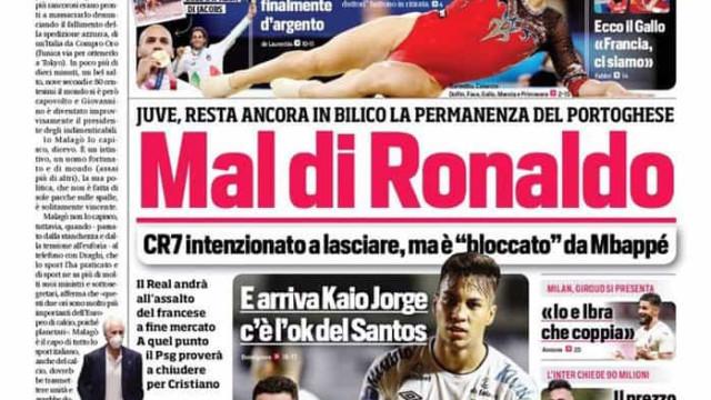 Lá fora: Cristiano Ronaldo quer uma coisa... e Messi quer outra