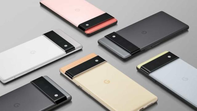 Google confirma Pixel 6, com processador mais rápido e inteligente