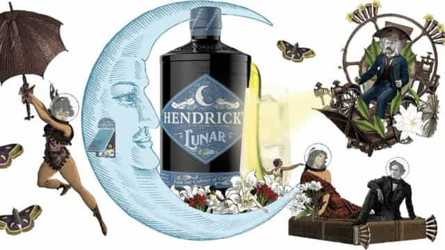 Hendrick's gin lança nova edição limitada: Henrick's Lunar