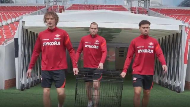 Spartak provoca Benfica antes do jogo em Moscovo