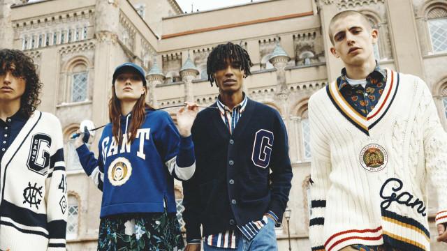 Gant reinterpreta os clássicos do sportwear americano com nova coleção