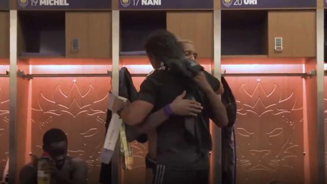 Nani foi chamado aos 'All-Star' da MLS e esta foi a sua reação
