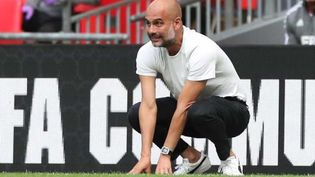 Guardiola recomendou novo treinador ao Barcelona, garantem em Espanha