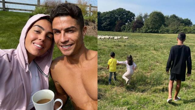 Afinal, Cristiano Ronaldo não trocou de casa por causa das ovelhas
