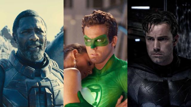 Atores que já entraram em filmes da Marvel e DC
