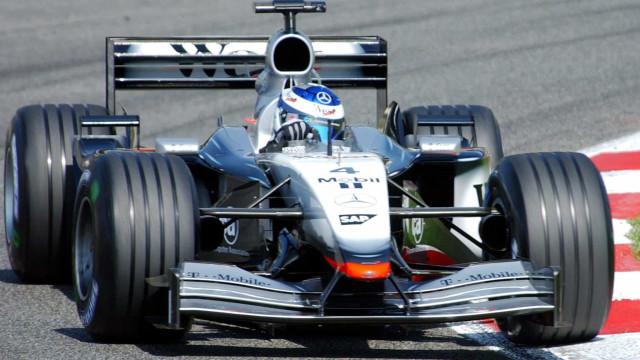 Antigo McLaren de Kimi Raikkonen está à venda