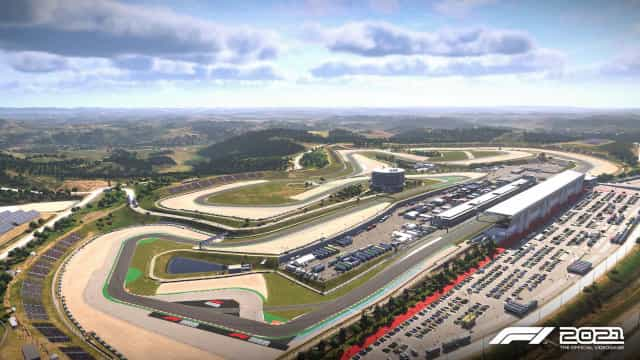 Circuito de Portimão já chegou a 'F1 2021'