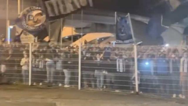 FC Porto com receção apoteótica no regresso a Portugal
