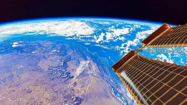 China partilha vista da Terra a partir da sua estação espacial