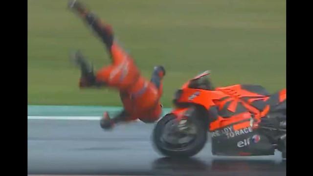 Iker Lecuona sofre queda aparatosa nos treinos do GP de São Marino