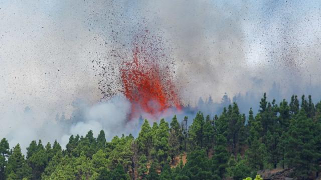 Vulcão entra em erupção nas Canárias. Sánchez a caminho do local