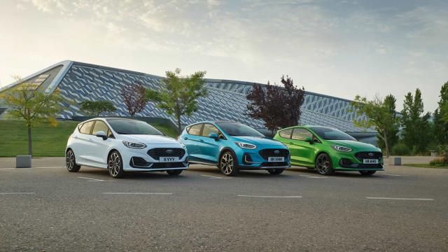 Eis as novidades do renovado Ford Fiesta, mais estético e tecnológico
