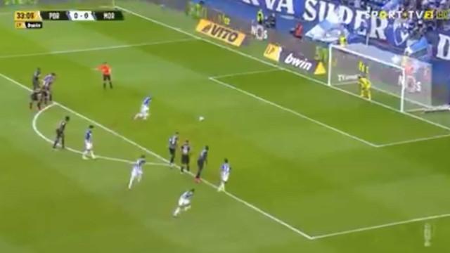 O penálti de Taremi que desfez o nulo no FC Porto-Moreirense