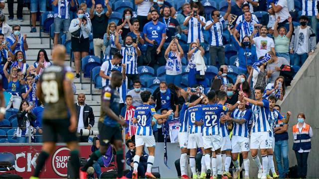 FC Porto aplica chapa cinco ao Moreirense e vê Benfica a um passo