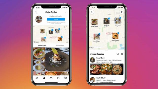 Nova ferramenta: Instagram lança 'Pesquisa no Mapa' em Portugal