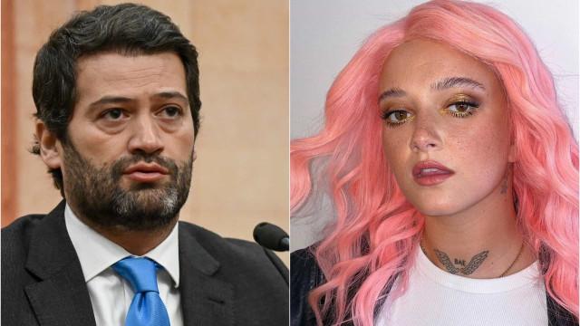 """André Ventura 'ataca' Carolina Deslandes. """"Saudades das mulheres a sério"""""""
