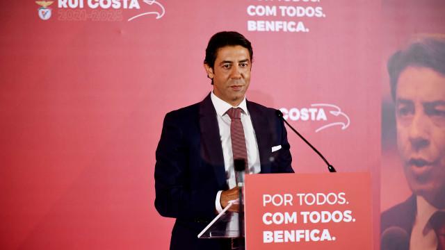 Oficial: Rui Costa anuncia que é candidato à presidência do Benfica