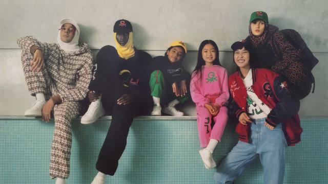 Benetton apresentou em Milão a coleção cápsula United Colors of Ghali