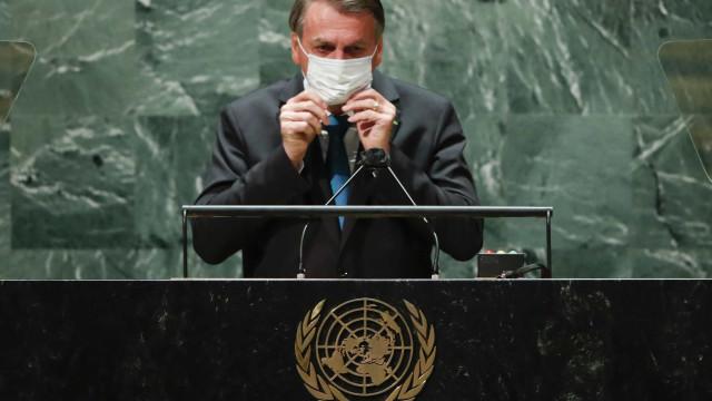 Bolsonaro alvo de piada na televisão americana após participação na ONU