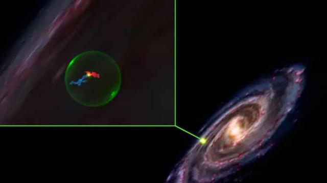 """Descoberta """"cavidade"""" que pode ajudar a explicar formação de estrelas"""