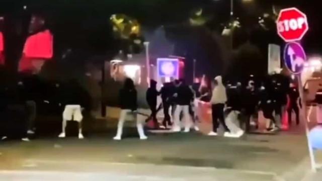 Cidade de Florença a 'ferro e fogo' após jogo entre Fiorentina e Inter