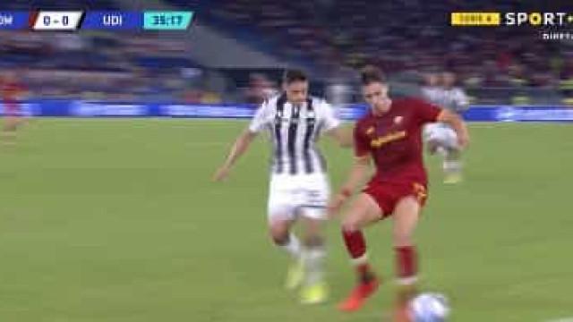 Calafiori acelerou, Abraham marcou e Mourinho voltou a sorrir