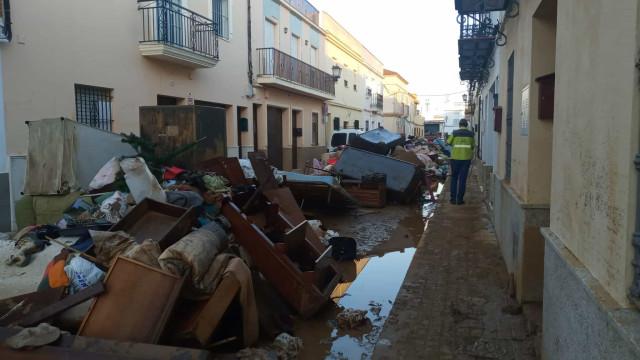 Vídeo. Fortes chuvas deixaram rasto de destruição em Huelva