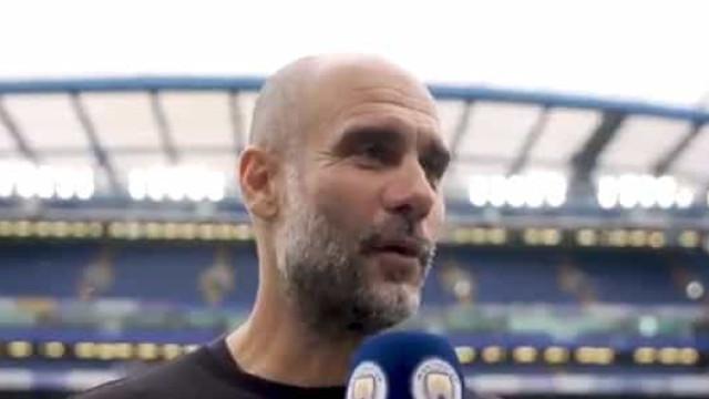 "Guardiola rendido aos jogadores do City: ""A forma como jogámos..."""