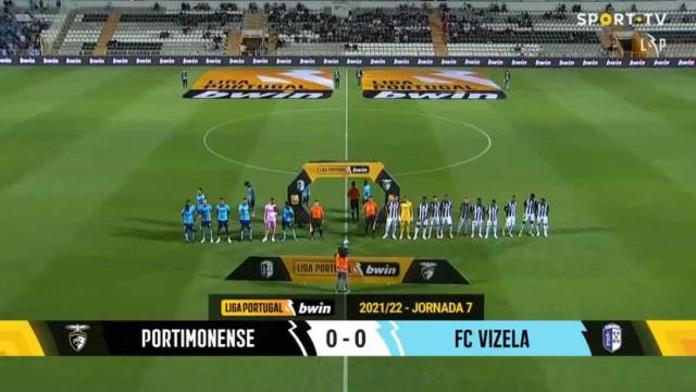 O resumo do Portimonense-Vizela em 60 segundos